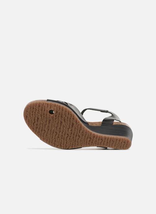 Sandales et nu-pieds Kickers Simply Noir vue haut