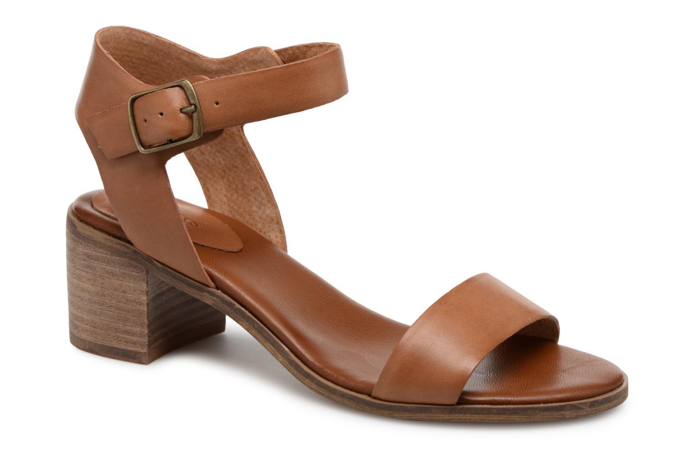 Sandales et nu-pieds Kickers Volou Marron vue détail/paire