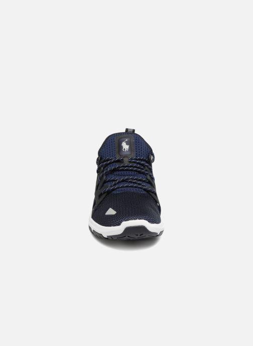 Baskets Polo Ralph Lauren Train200 Bleu vue portées chaussures