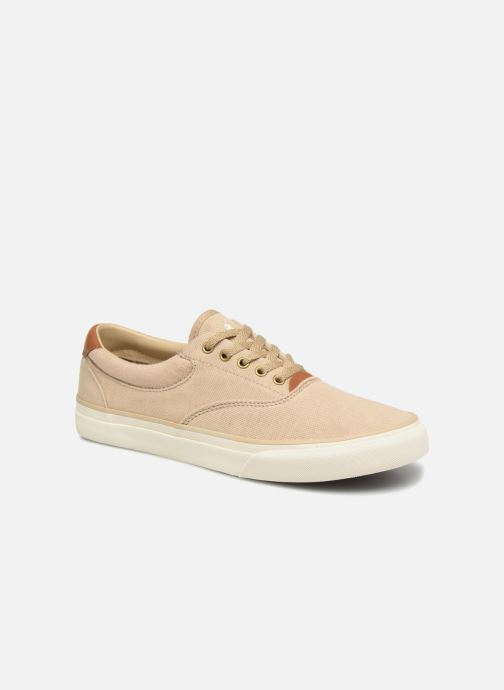 Baskets Polo Ralph Lauren Thorton II Beige vue détail/paire