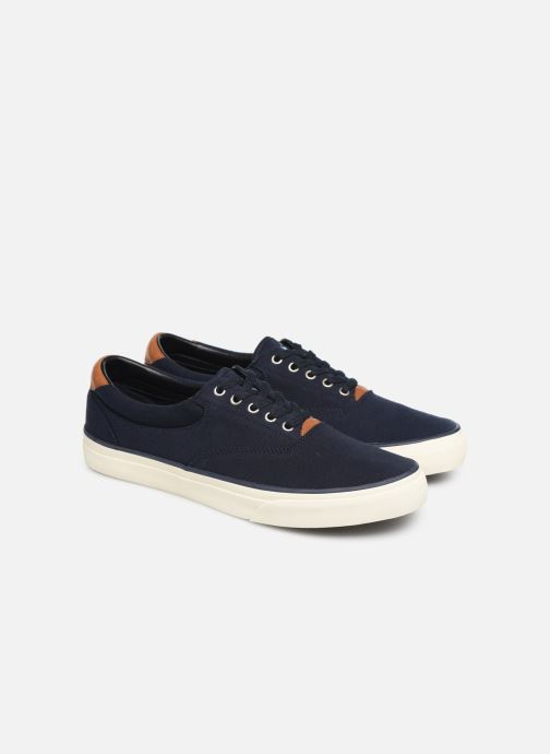 Baskets Polo Ralph Lauren Thorton II Bleu vue 3/4