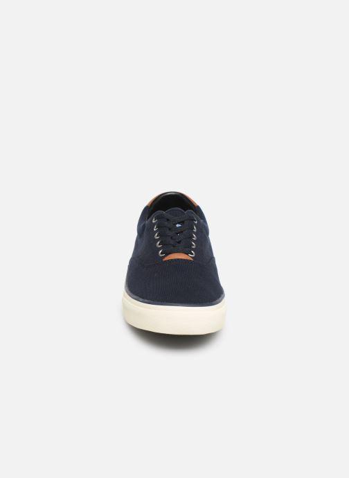 Baskets Polo Ralph Lauren Thorton II Bleu vue portées chaussures