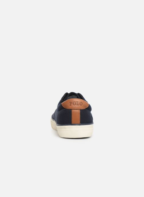 Baskets Polo Ralph Lauren Thorton II Bleu vue droite