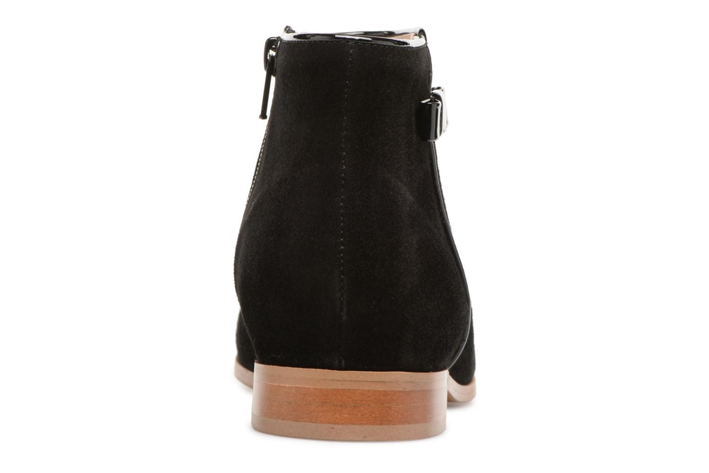 Bottines et boots Georgia Rose Stanoeud Noir vue droite