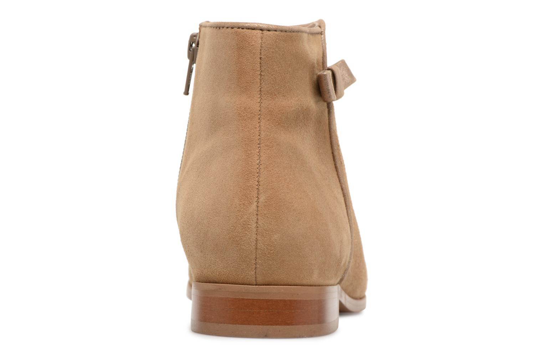 Bottines et boots Georgia Rose Stanoeud Beige vue droite