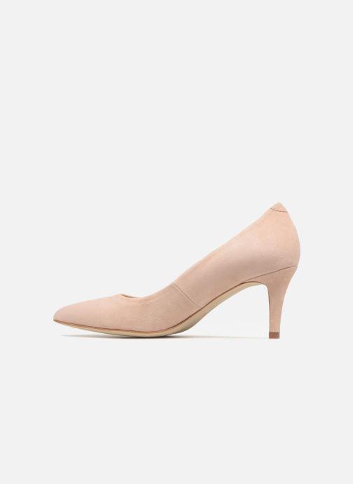 Zapatos de tacón Georgia Rose Rosali Beige vista de frente