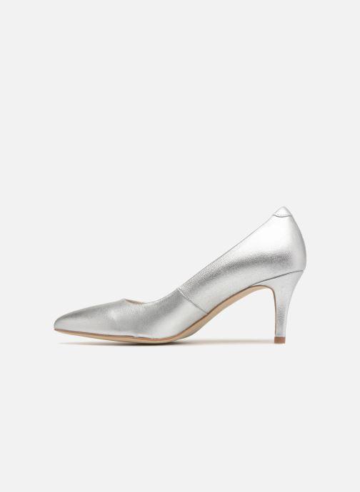 Zapatos de tacón Georgia Rose Rosali Plateado vista de frente