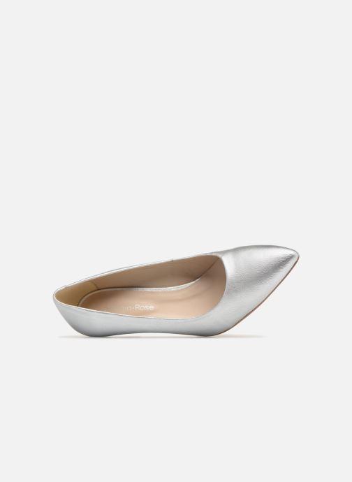 Zapatos de tacón Georgia Rose Rosali Plateado vista lateral izquierda