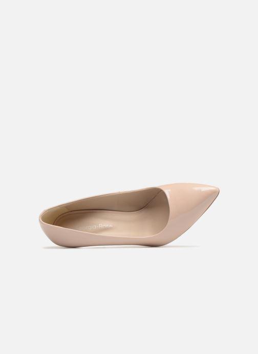 Zapatos de tacón Georgia Rose Rosace Beige vista lateral izquierda