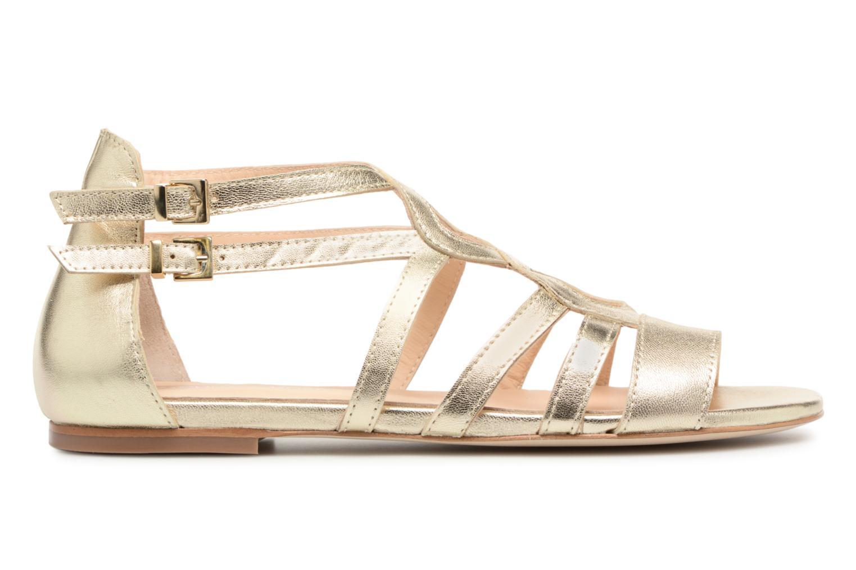 Sandales et nu-pieds Georgia Rose Stephou Or et bronze vue derrière