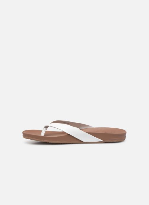 Chanclas Reef CUSHION BOUNCE COURT Blanco vista de frente