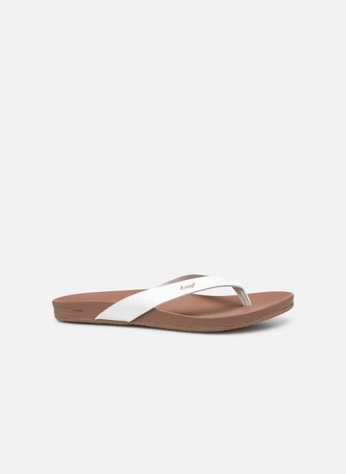 Chanclas Reef CUSHION BOUNCE COURT Blanco vistra trasera