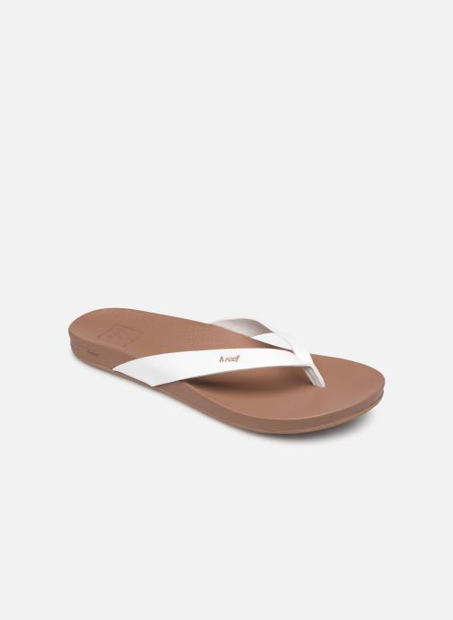 Chanclas Reef CUSHION BOUNCE COURT Blanco vista de detalle / par