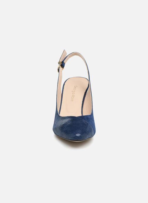 Escarpins Georgia Rose Elegante Bleu vue portées chaussures