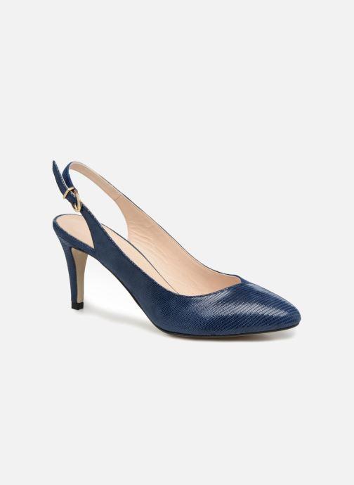 61b16327e262e ... Chaussure femme · Georgia Rose femme  Elegante. Escarpins Georgia Rose  Elegante Bleu vue détail paire