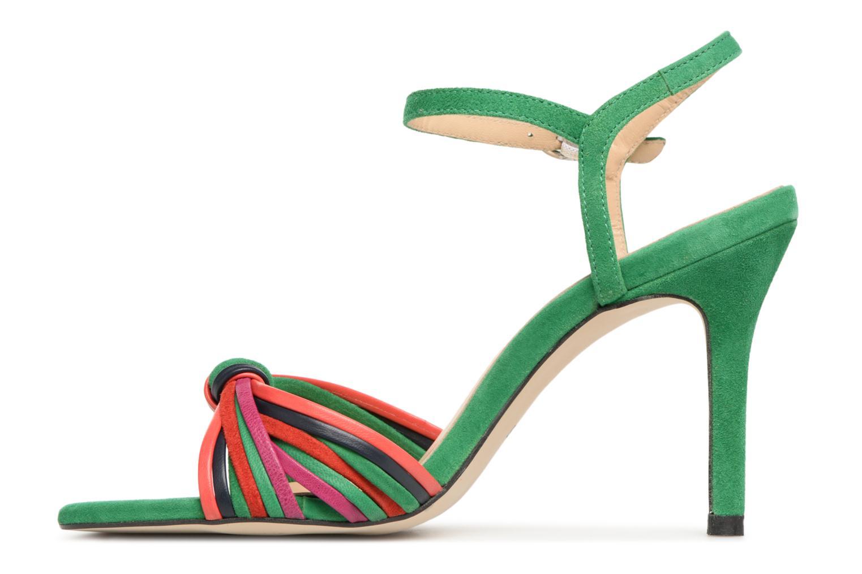 Sandales et nu-pieds Georgia Rose Embrin Vert vue face