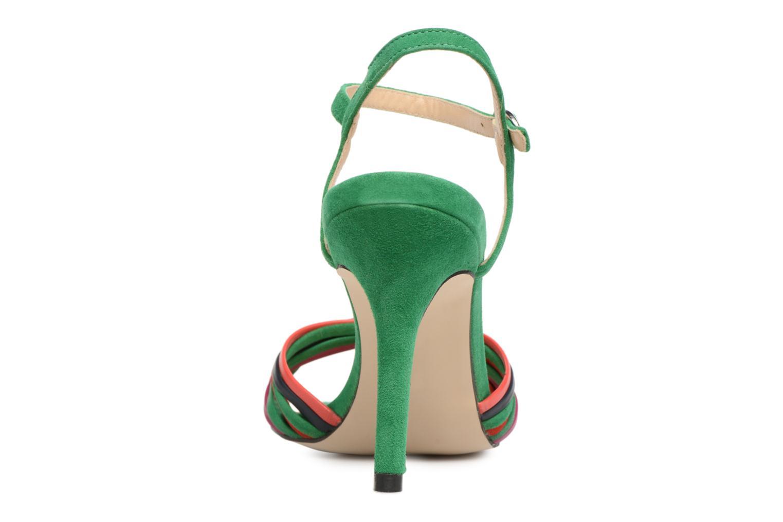 Sandales et nu-pieds Georgia Rose Embrin Vert vue droite