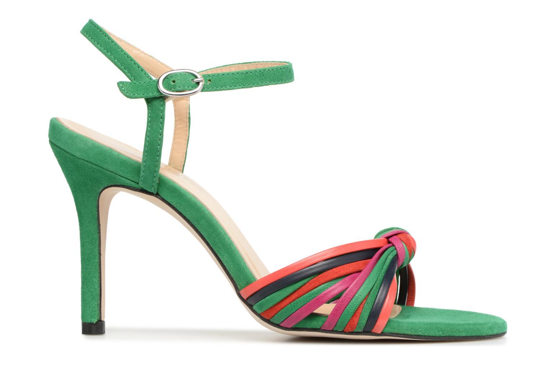 Sandales et nu-pieds Georgia Rose Embrin Vert vue derrière