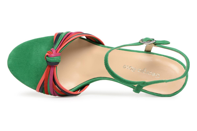 Sandales et nu-pieds Georgia Rose Embrin Vert vue gauche