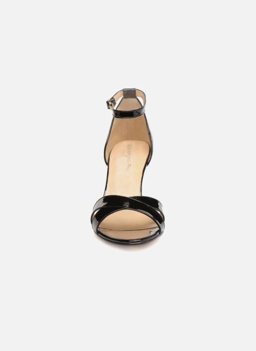 Sandales et nu-pieds Georgia Rose Ecrin Noir vue portées chaussures
