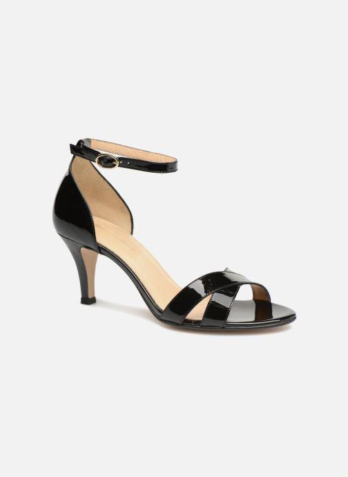 Sandales et nu-pieds Georgia Rose Ecrin Noir vue détail/paire