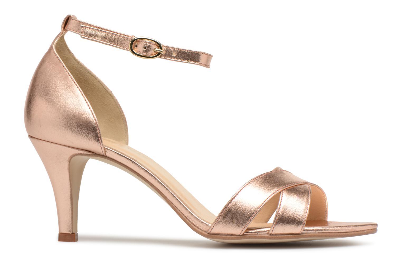 Sandales et nu-pieds Georgia Rose Ecrin Or et bronze vue derrière