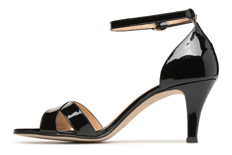 Sandales et nu-pieds Georgia Rose Ecrin Noir vue face