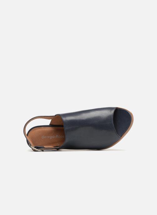 Sandales et nu-pieds Georgia Rose Ezabia Bleu vue gauche