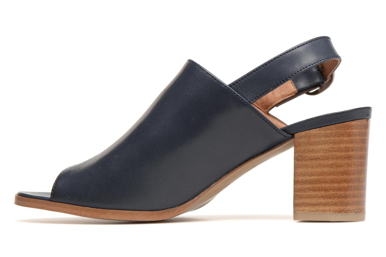 Sandales et nu-pieds Georgia Rose Ezabia Bleu vue face