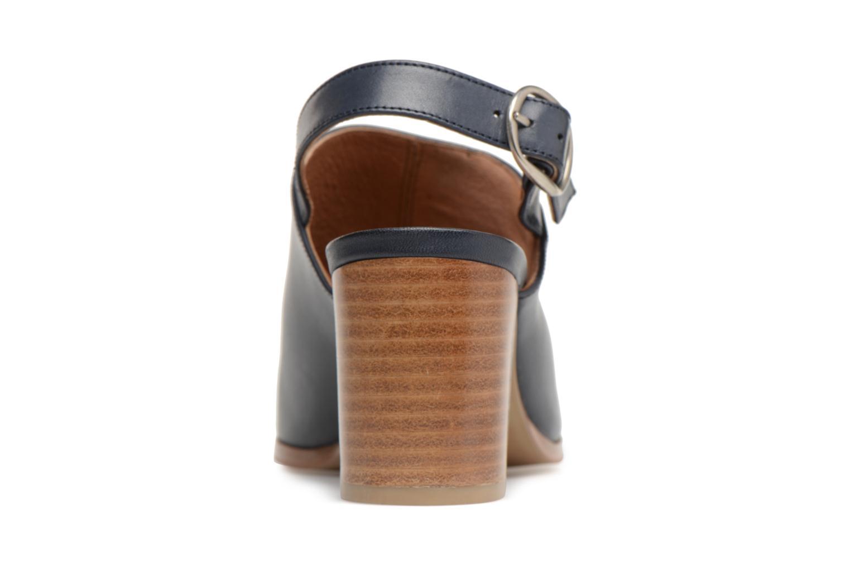 Sandales et nu-pieds Georgia Rose Ezabia Bleu vue droite