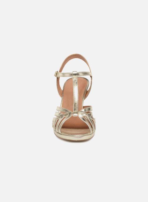 Sandales et nu-pieds Georgia Rose Ebrina Or et bronze vue portées chaussures