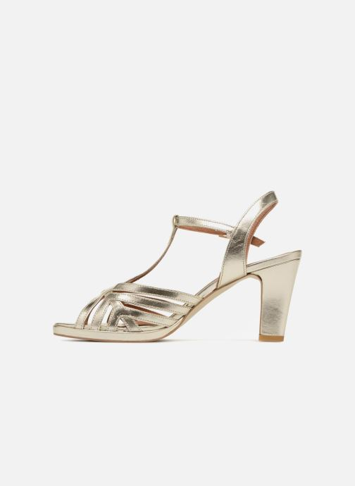 Sandales et nu-pieds Georgia Rose Ebrina Or et bronze vue face