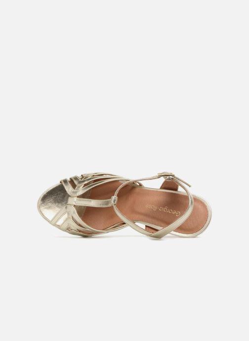 Sandales et nu-pieds Georgia Rose Ebrina Or et bronze vue gauche