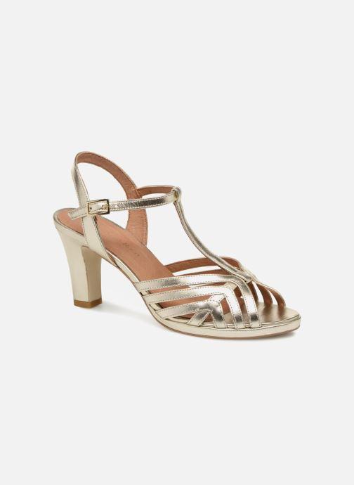 Sandales et nu-pieds Georgia Rose Ebrina Or et bronze vue détail/paire