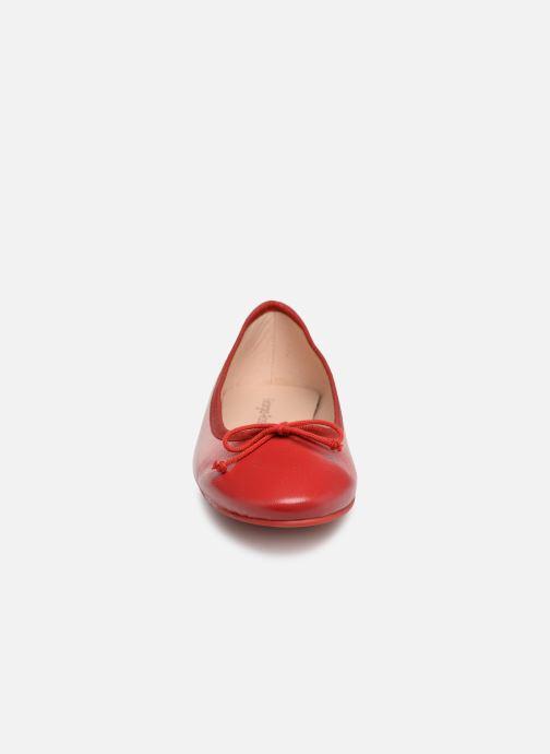 Ballerines Georgia Rose Sanoeud Rouge vue portées chaussures