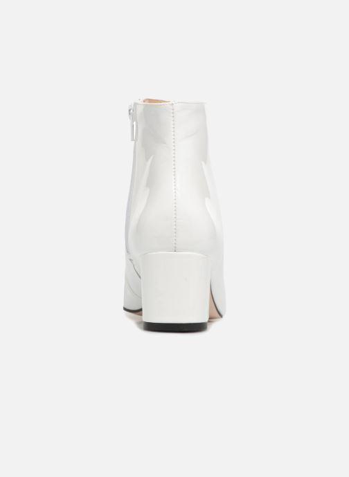 Bottines et boots Georgia Rose Seventies Blanc vue droite