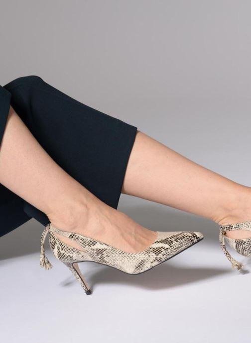 Zapatos de tacón Georgia Rose Sapon Negro vista de abajo