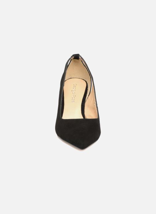 Zapatos de tacón Georgia Rose Sapon Negro vista del modelo