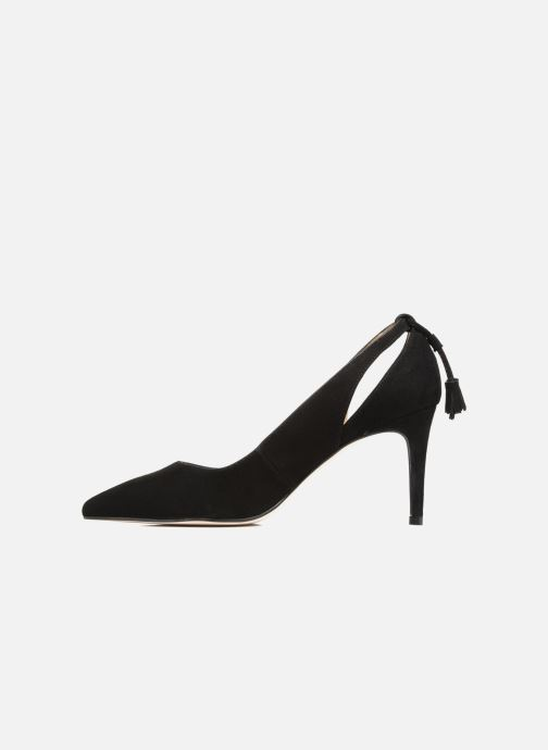 Zapatos de tacón Georgia Rose Sapon Negro vista de frente