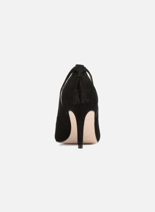 Zapatos de tacón Georgia Rose Sapon Negro vista lateral derecha