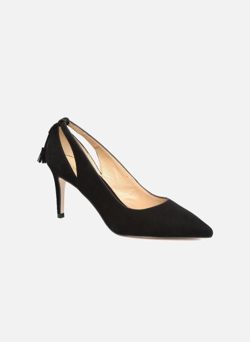 Zapatos de tacón Georgia Rose Sapon Negro vista de detalle / par