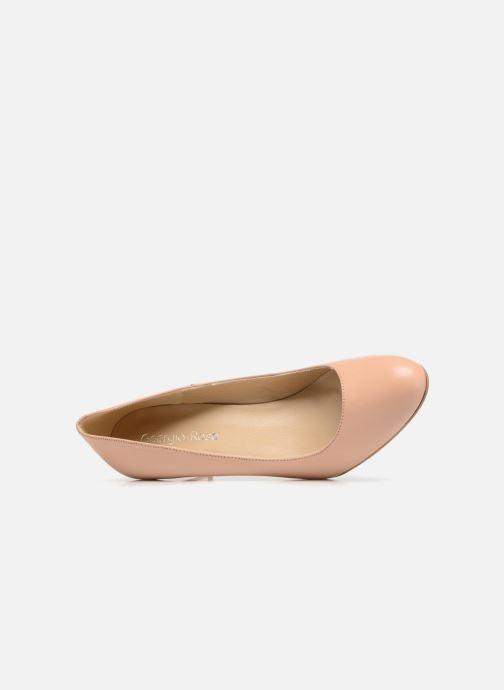 Zapatos de tacón Georgia Rose Selim Beige vista lateral izquierda