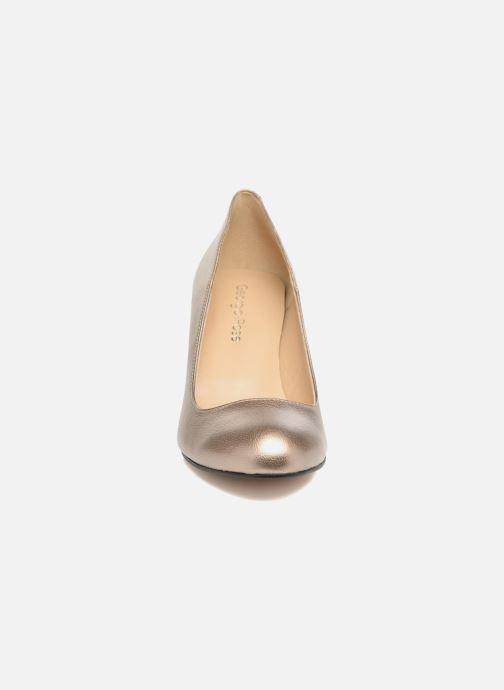 High heels Georgia Rose Selim Bronze and Gold model view