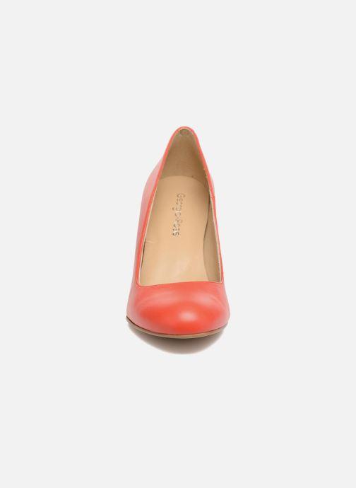 High heels Georgia Rose Selinon Orange model view