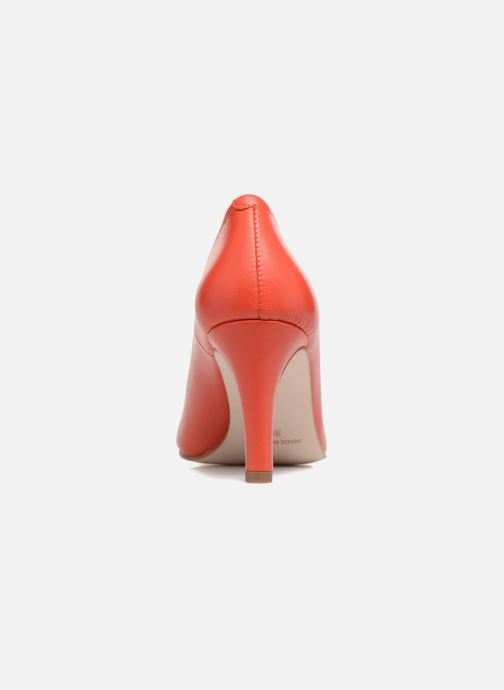High heels Georgia Rose Selinon Orange view from the right