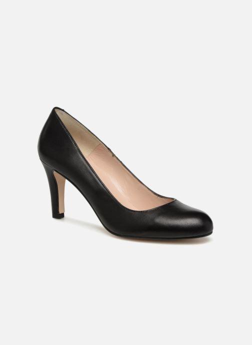 High heels Georgia Rose Selinon Black detailed view/ Pair view