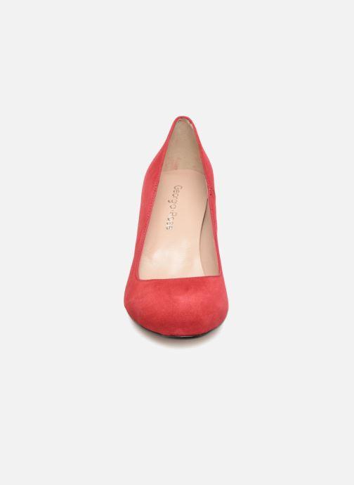 Escarpins Georgia Rose Selinon Rouge vue portées chaussures
