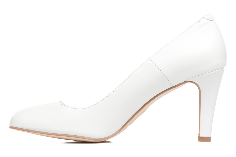 Escarpins Georgia Rose Selinon Blanc vue face