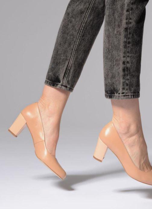 Zapatos de tacón Georgia Rose Sivane Beige vista de abajo
