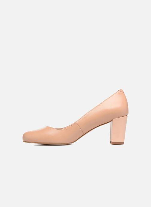 Zapatos de tacón Georgia Rose Sivane Beige vista de frente
